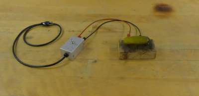 A pickle is connected to an AC switch
