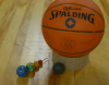 Basketball, Superball, and Astroblaster