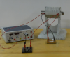 Power Supply, Electromagnet with core, tap switch, LED