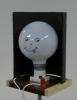 Smiley face on a bulb